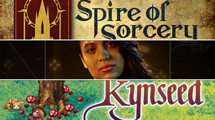映像を体験にする作品『#WarGames』|『Spire of Sorcery』『Kynseed』