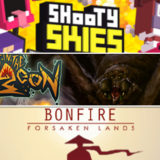ポップな無料シューティング『Shooty Skies』|『Lost in the Dungeon』『The Bonfire: Forsaken Lands』